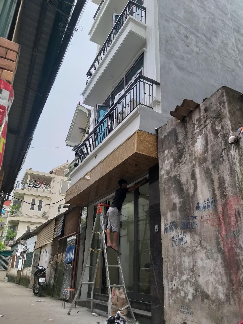 Cửa Xing Fa tại công trình nhật tân